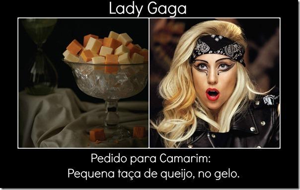 Lady Gaga pedido
