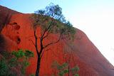 Looking Up At Uluru - Yulara, Australia