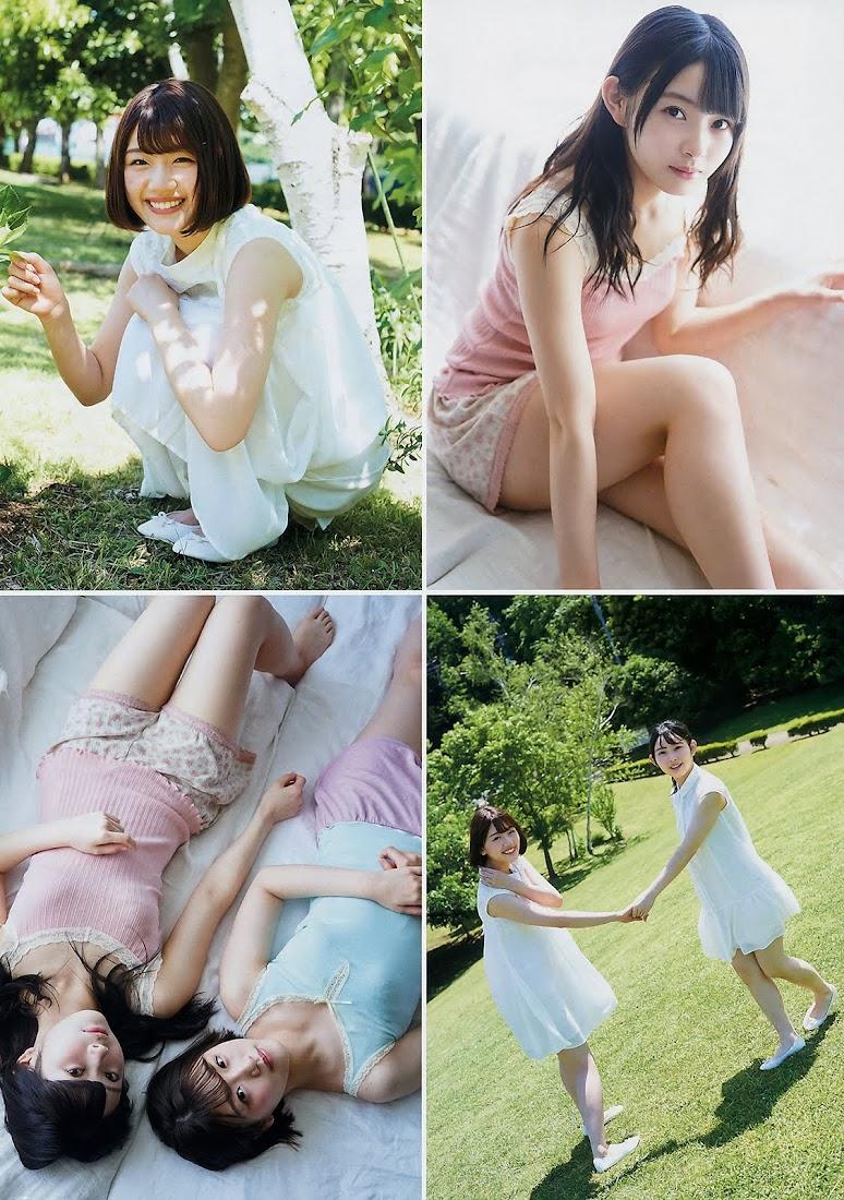 [Young Magazine] 2018 No.29 久松郁実 佐々木美玲 柿崎芽実 - Girlsdelta