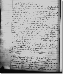 Mary Sellers WILL, page 42