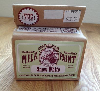 Pintura de leche