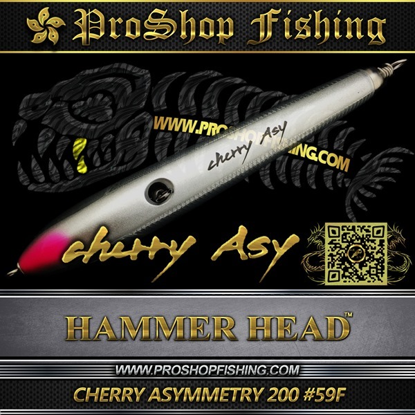 hammerhead CHERRY ASYMMETRY 200 #59F.4