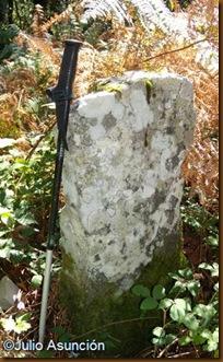 Menhir de Irumugeta - parte delantera