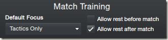 Match Training in FM 2013