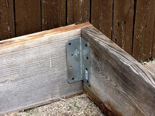 Exceptional Raised Garden Corner Brackets Part - 12: Building Raised Garden Box Style With Cents1c