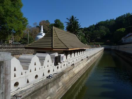Temple budiste: templul dintelui Kandy Sri Lanka