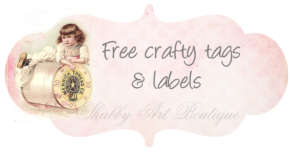 Shabby Art Boutique free tags 1