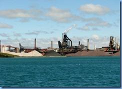 5003 Michigan - Sault Sainte Marie, MI -  St Marys River - Soo Locks Boat Tours - Algoma Steel Company, Sault Sainte Marie Canada
