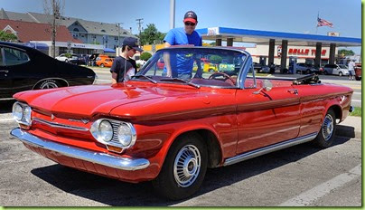 63 corvair convertible