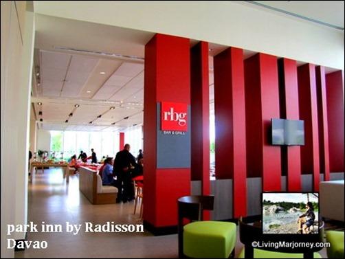 Park Inn by Radisson: RBG Bar & Grill