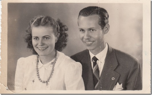 Debs and Willis Webster November 25, 1943