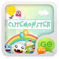 GO SMS Pro CuteMonster ThemeEX APK for Ubuntu