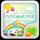 GO SMS Pro CuteMonster ThemeEX