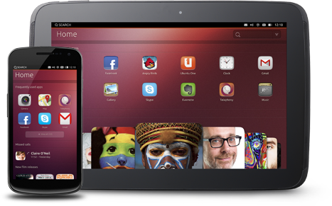 Ubuntu Tablet OS e Ubuntu Phone OS