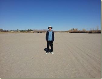 Dick in the Rio Grande River Las Cruces