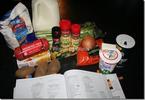 Cheeseburger Soup Ingredients