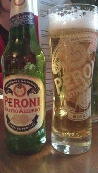 Ahh, an ice cold Peroni!