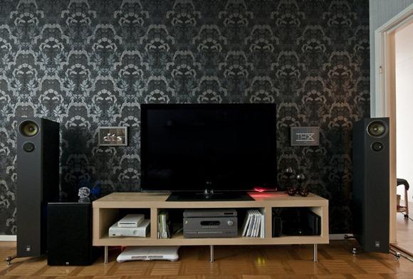 cómo colocar la TV en el Living