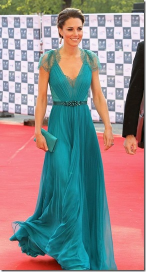Kate-Middleton-in-Jenny-Packham-Teal-Dress