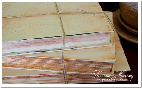 Painted Book edges