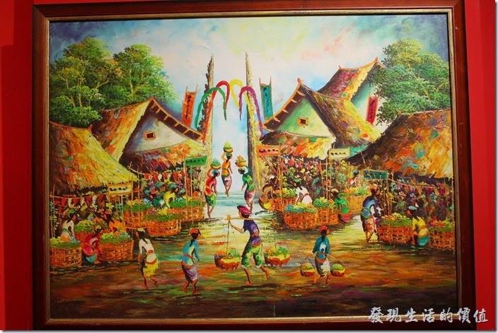 這幅圖畫好有意思!這不知道是不是汶萊的傳統圖畫?