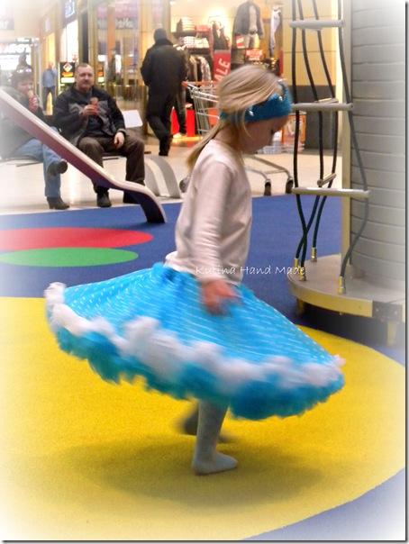 голубая юбка 1 031