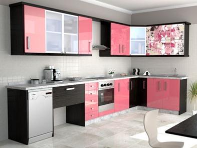 Muebles para cocinas modernas decoraci n de habitaciones for Cocinas modernas moradas