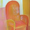 """""""Yellow Chair"""" Gouache"""