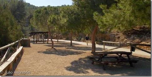 Sierra Helada - área recreativa