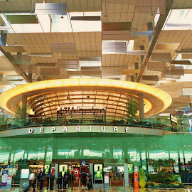 Airport Departure Hall by Koh Chip Whye - Buildings & Architecture Other Interior (  )