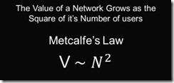 Metcalfe&#39;s Law