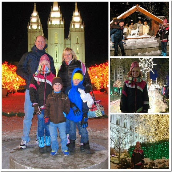 temple square Collage