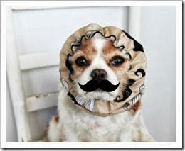 mustache snood