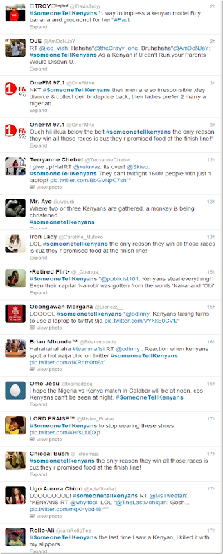 someone tell kenyans