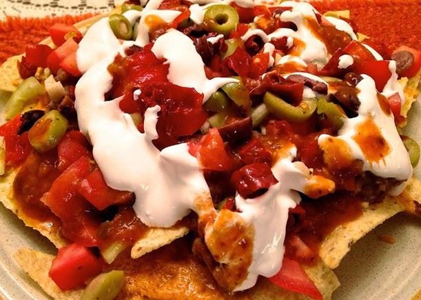 easy camping nachos