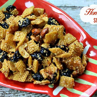Honey Sesame Chex Mix