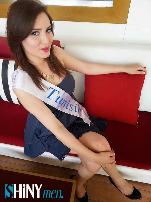 De Miss Tunisie 224 Miss Mediterran 233 E Ines Chater