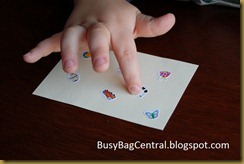 upclose of hand counting