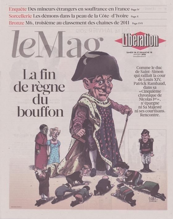 Libération portada del Mag (2)