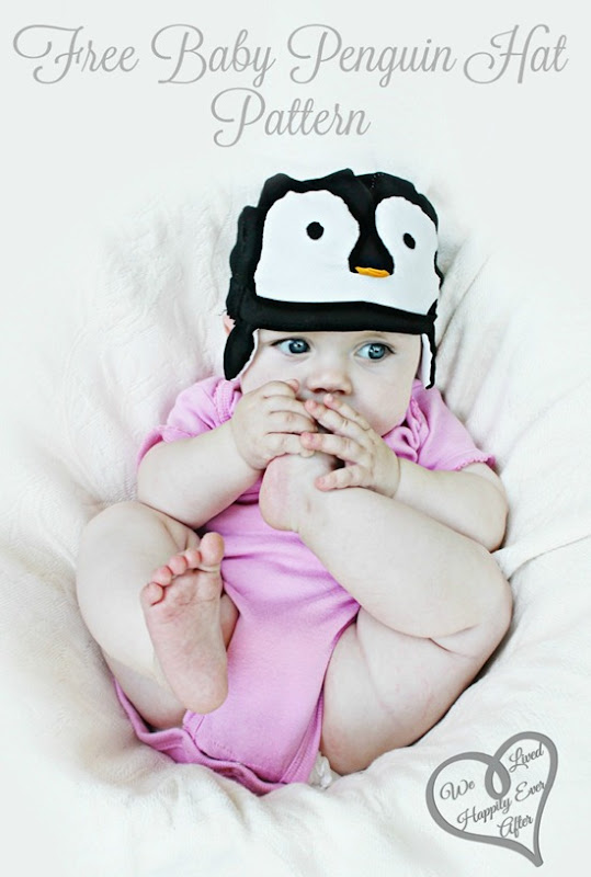 Free Baby Penguin Hat by We Lived Happily Ever After