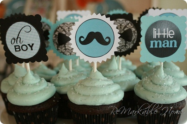 little man cupcakes