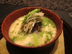"""Wagyu Beef Cheek"" in ""Winter Miso Soup"" with lots of ""Winter Vegetables"""