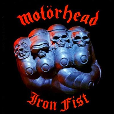 Motorhead Iron Fist album cover