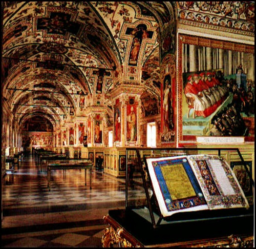 Bibliothèque du Vatican, citée du Vatican