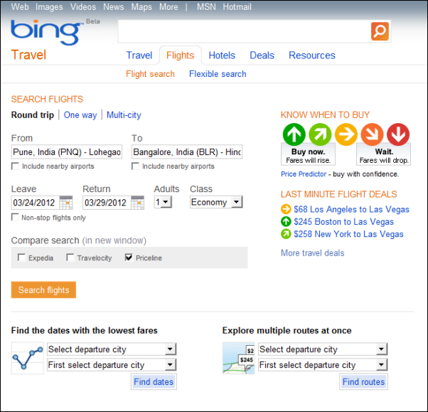 bing-flight-search