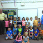 WBFJ Cicis Pizza Pledge - Northwest Elementary - Mrs. Rings 1st Grade Class - Lexington- 9-17-14