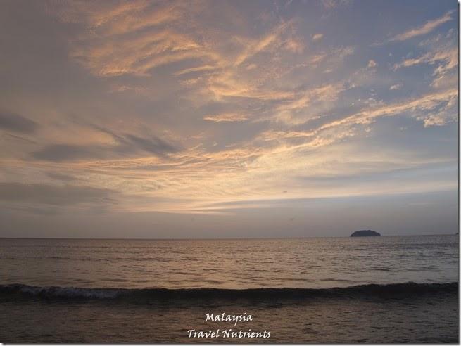 沙巴亞庇丹容亞路海灘夕陽 Perdana Park音樂水舞 (11)