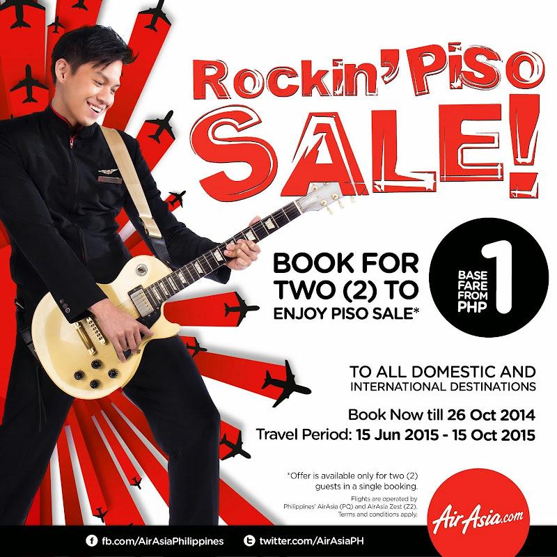 Air Asia Rockin Piso Sale