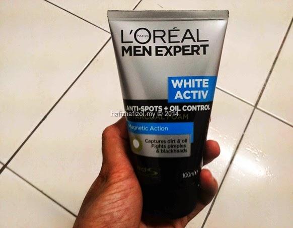 loreal men expert white activ