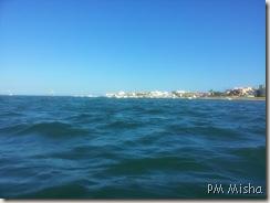 Ria Formosa na Praia de Faro